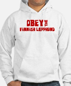 Obey the Finnish Lapphund Hoodie