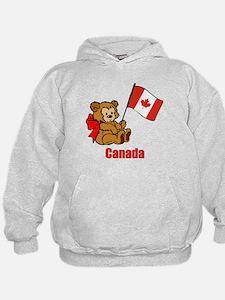 Canada Teddy Bear Hoodie