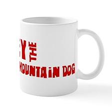 Obey the Entlebucher Mountain Mug