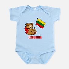 Lithuania Teddy Bear Onesie