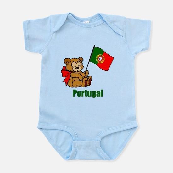 Portugal Teddy Bear Infant Bodysuit