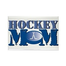 Hockey Mom Rectangle Magnet