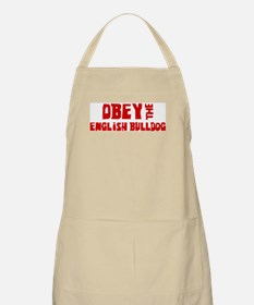 Obey the English Bulldog BBQ Apron