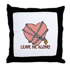 Anti Valentine's Throw Pillow