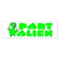 Part Alien Bumper Bumper Sticker