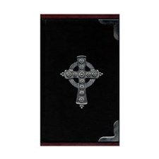 Celtic Cross Rectangle Decal