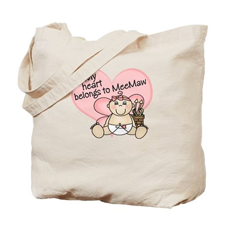 My Heart Belongs to MeeMaw GI Tote Bag