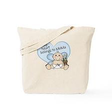 My Heart Belongs to MeMa BOY Tote Bag