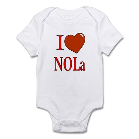 I Love New Orleans Infant Bodysuit