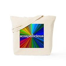 Scrap Book Tote Bag