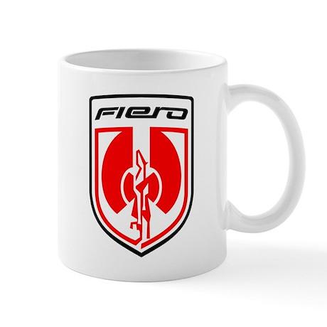 "Fiero Mug - Red 2K8 Logo ""Design by C. Pennock"""