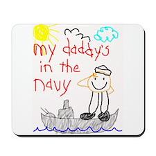 Navy Dad Mousepad