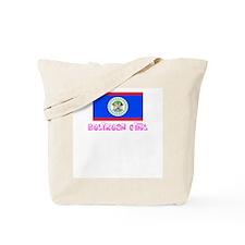 Belizean Girl Tote Bag