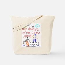 Coast Guard Daddy Tote Bag
