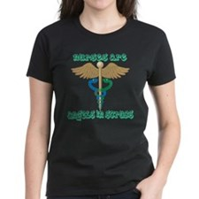 Nurses Are Angels in Scrubs Tee