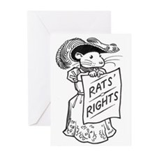 Cute Suffragette Greeting Cards (Pk of 10)