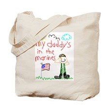 Marine Daddy Tote Bag