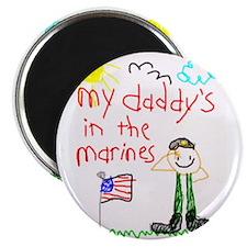 Marine Daddy Magnet