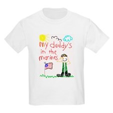 Marine Daddy Kids T-Shirt