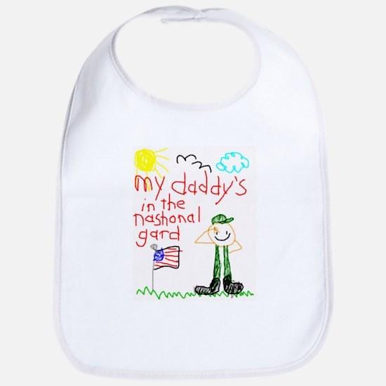 National Guard Daddy Bib