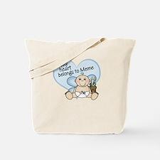 My Heart Belongs to Meme BOY Tote Bag