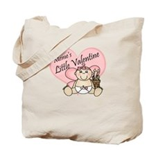 Meme's Little Valentine GIRL Tote Bag