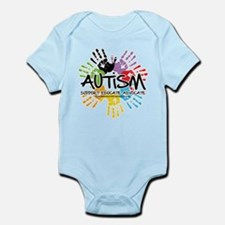Autism-Handprint2011 Body Suit