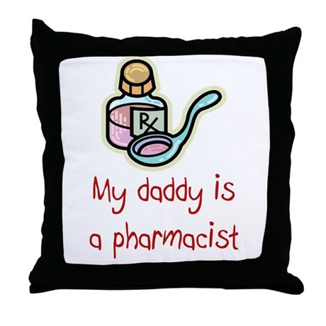 Pharmacy Throw Pillow