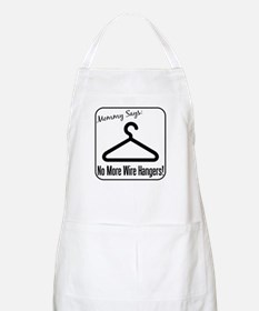 No More Wire Hangers! BBQ Apron