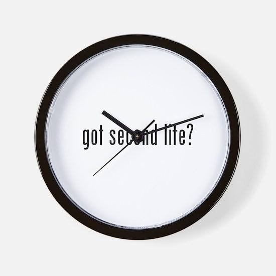 got second life? Wall Clock