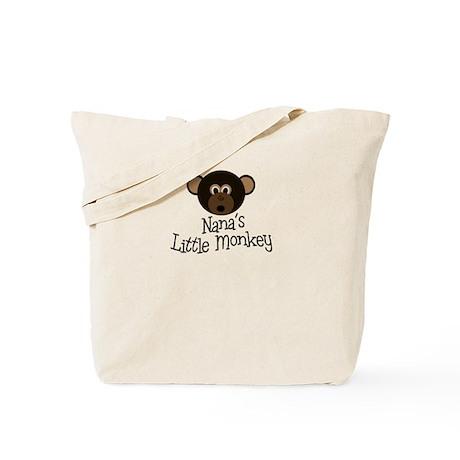 Nana's Little Monkey BOY Tote Bag