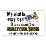 Snowmobiling Stickers