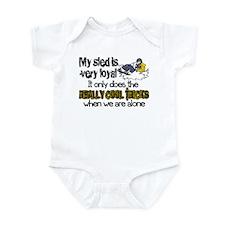 Loyal Sled Infant Bodysuit