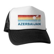 Palm Tree Azerbaijan Trucker Hat