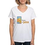On The Juice Women's V-Neck T-Shirt