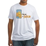 On The Juice Fitted T-Shirt