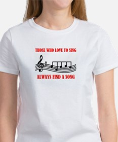 LOVE TO SING Tee