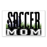Soccer Mom Rectangle Sticker