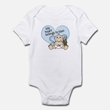 My Heart Belongs to Nani BOY Infant Bodysuit