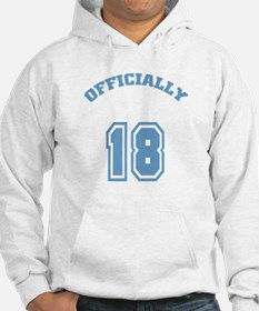 Officially 18 Hoodie