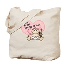 My Heart Belongs to Nani GIRL Tote Bag