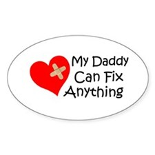 My Daddy... Oval Decal