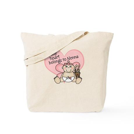 My Heart Belongs to Nonna GIR Tote Bag