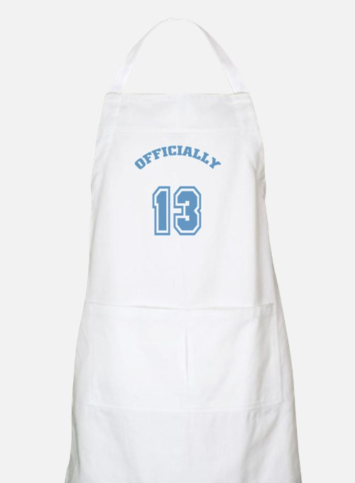 Officially 13 BBQ Apron