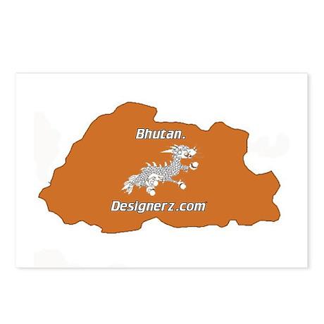 Bhutan Postcards (Package of 8)