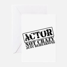 Not Crazy Just Rehearsing Greeting Cards (Pk of 10