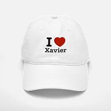I love Xavier Baseball Baseball Cap