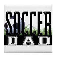 Soccer Dad Tile Coaster