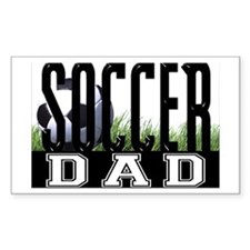 Soccer Dad Rectangle Decal