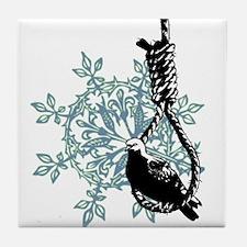 BIRD on NOOSE Tile Coaster